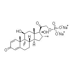 dexamethasone-sodium phosphate graph