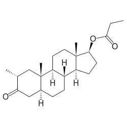 drostanolone propionate graph