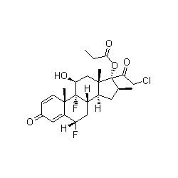 halobetasol propionate graph