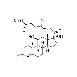 hydrocortisone sodium succinate graph