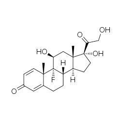 isoflupredone acetate graph
