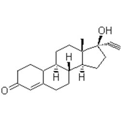 norethisterone base graph