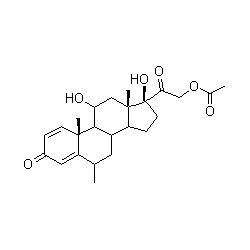 prednisolone acetate graph
