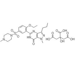 sildenafil citrate graph