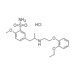 tamsulosin hydrochloride graph