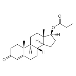 testosterone phenylpropionate graph